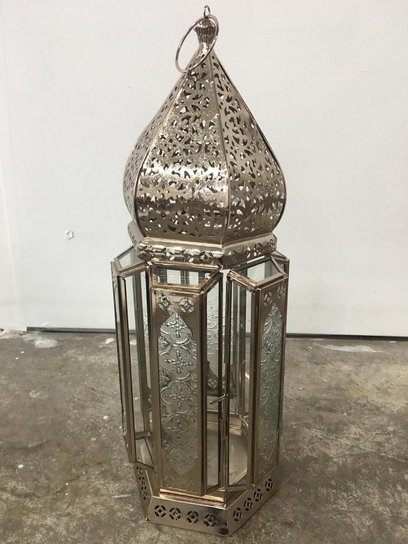Moroccan Silver Lanter