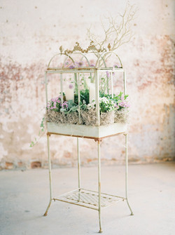 Antique Greenhouse Stand