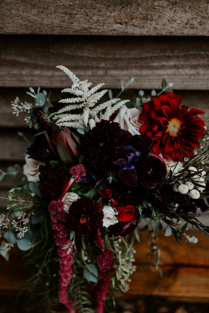 Mallory + Daron's enchanted, modern boho inspired wedding