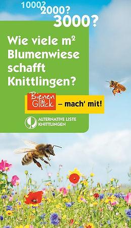 Bienenblumenaktion Knittlingen