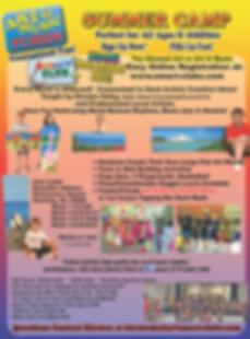 Flyer 2019 Summer camp