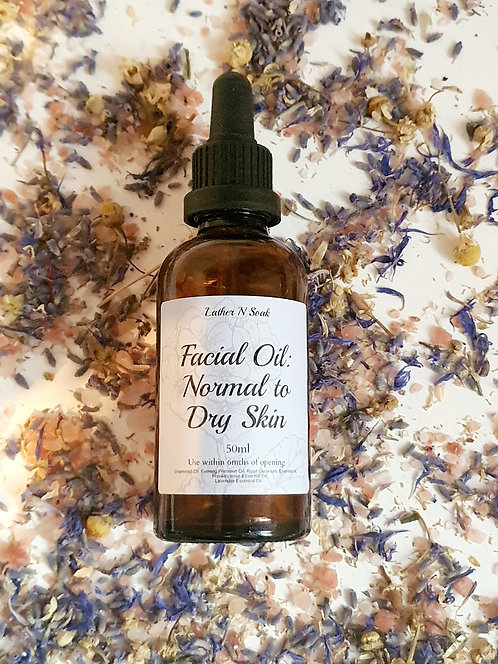 Facial Oil: Normal to Dry