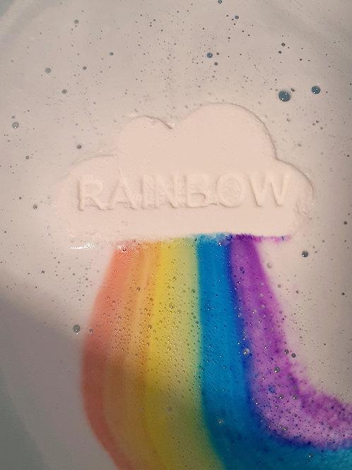 Rainbow Bath Bomb: 4 pack