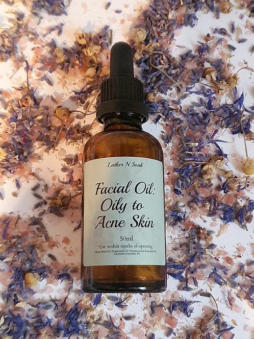 Facial Oil: Oily and Acne