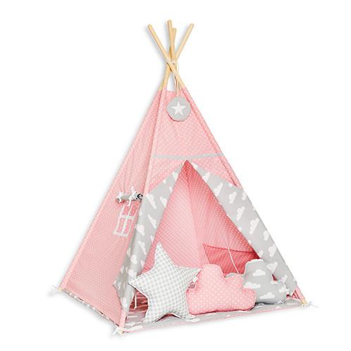 Spielzelt Kinderzimmer | Spielzelt Cloudy Rose Zelt Furs Kinderzimmer