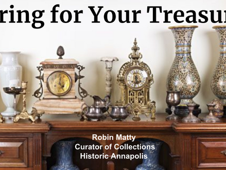 Caring For Your Treasures: Introduction
