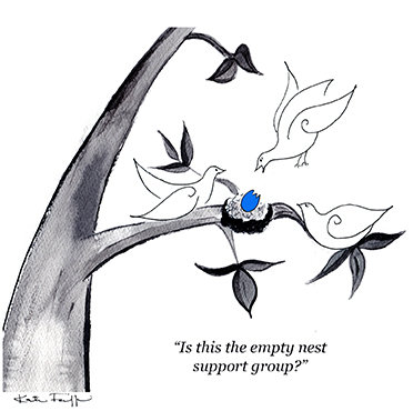 Empty nest support group (5 cards)