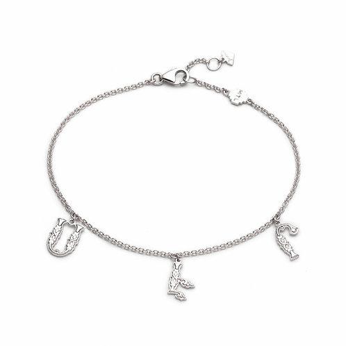"""Armenian """"Love"""" Bracelet in Sterling Silver"""