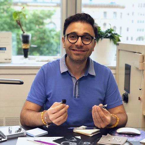 Jivan Yeramian - the founder of Jewelry Design House
