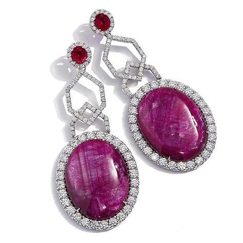 So Ruby_Ruby and Diamond Drop Earrings.j