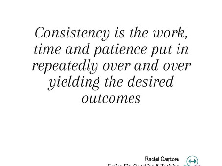 Outcome are Inevitable As Long As There's Consistency