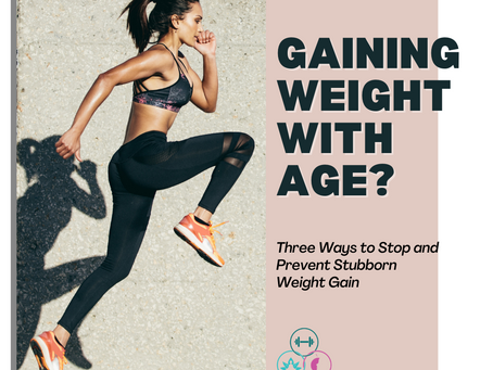 Offset Weight Gain with Age