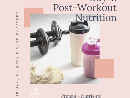 Body & Mind Recovery Series Day 4: Reap the benefits of gym sessions with post workout nutrition