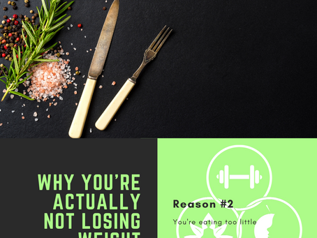 Why you're actually not losing weight, Reason #2
