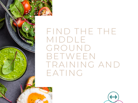 Extremes are stressful. The middle ground of exercise/training and eating.