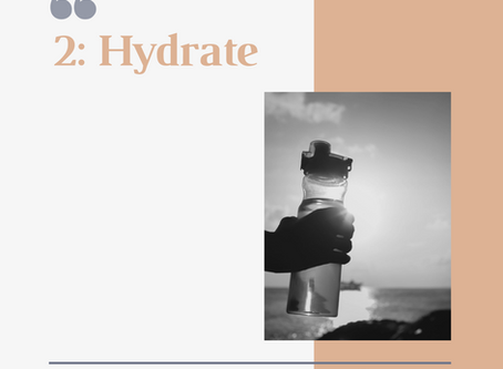 """10 Days of Body & Mind Recovery"" - Day 2: Hydrate"
