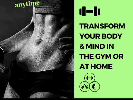 Transformation is Completely Attainable Whether You're At Home or Have The Gym