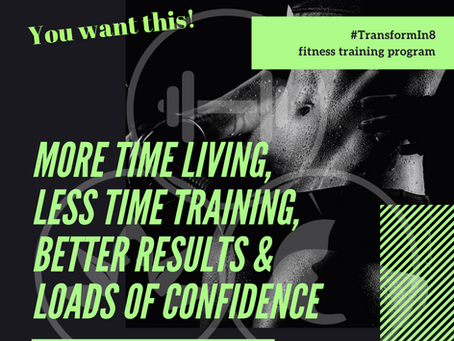 Spend More Time Living, Getting Better Results, When You Spend LESS Time Training