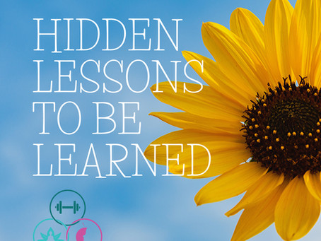 Hidden Lessons Learned from Getting Sick