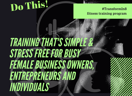 Simple, Stress Free Training for Busy Females, Entrepreneurs, and Business Owners