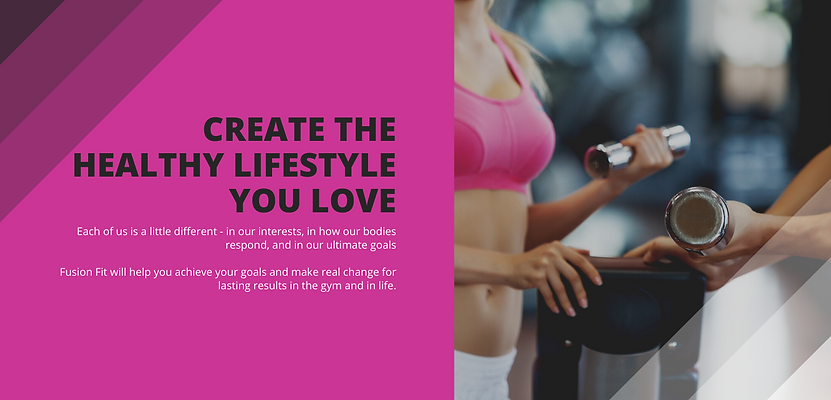 create the healthy lifestyle you love