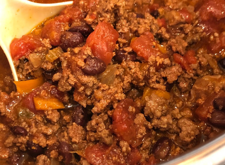 Steak and Beef Chili