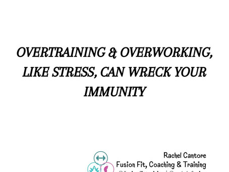 Taking care of your Immune System