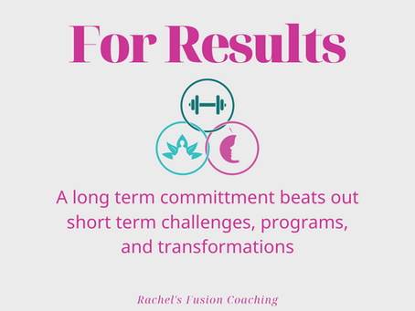 A long term commitment beats out short term challenges and transformation programs