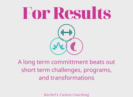 Why a long term commitment beats out short term challenges and transformation programs