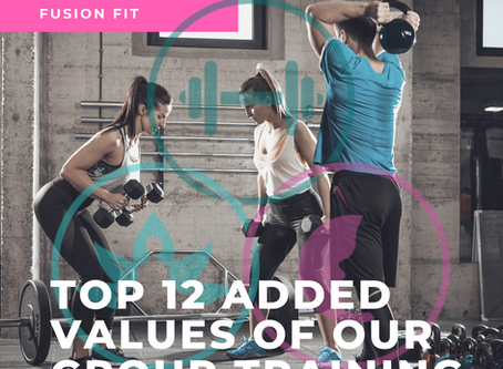 Top 10 Values of Group Training with Fusion Fit