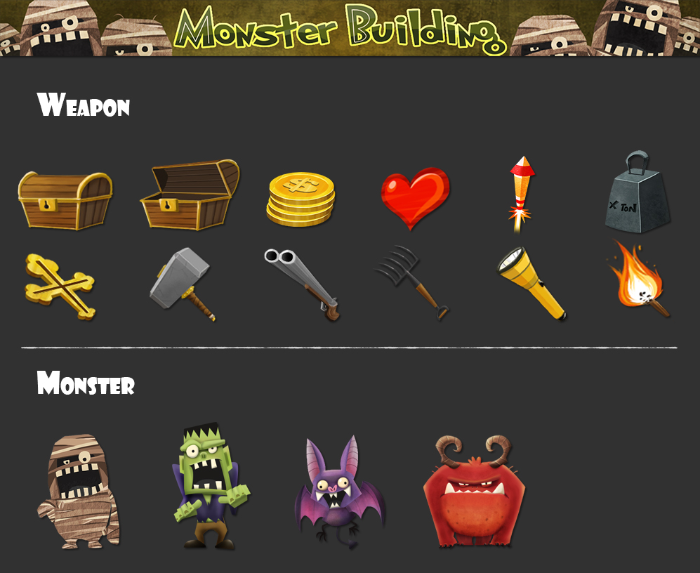 Moster Building - Props