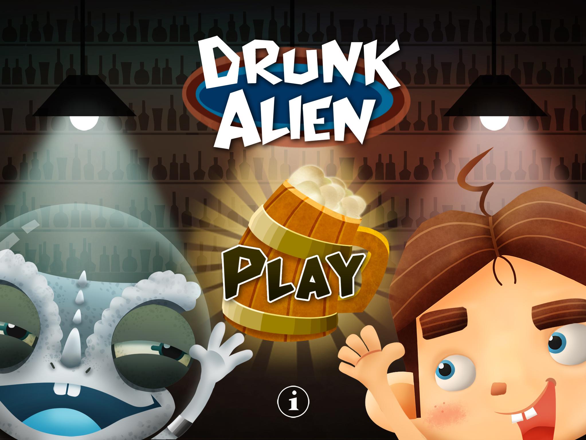 Drunk Alien- Main