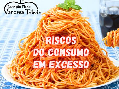 CONSUMO DE ALIMENTOS EM EXCESSO