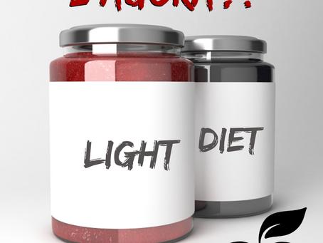 PRODUTOS INDUSTRIALIZADOS DIET, LIGHT E ZERO. Qual a diferença?