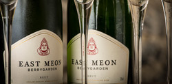 East Meon sparkling wine