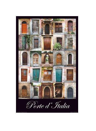 """Porte d'Italia - Small – 11"""" x 17"""""""