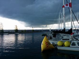 La tempête...