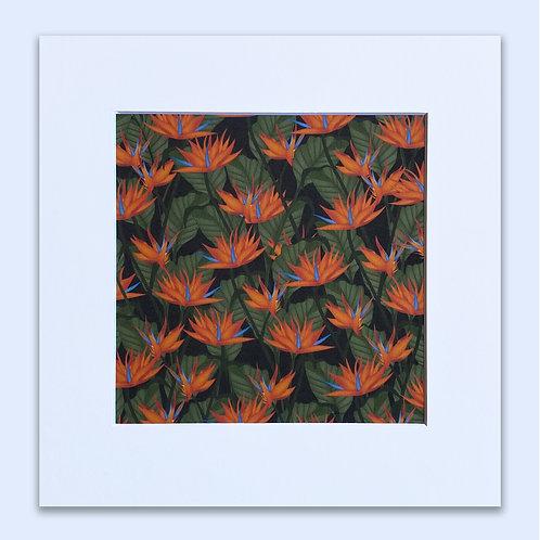 BIRDS OF PARADISE WALL ART