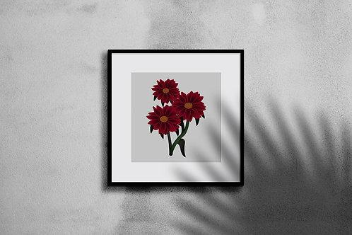 RED VELVET WALL ART