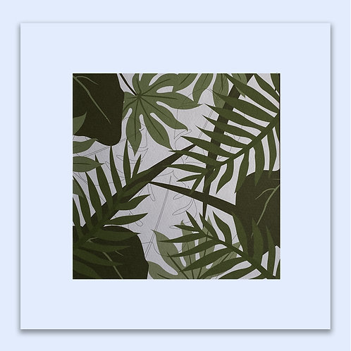BOTANICAL FOLIAGE WALL ART
