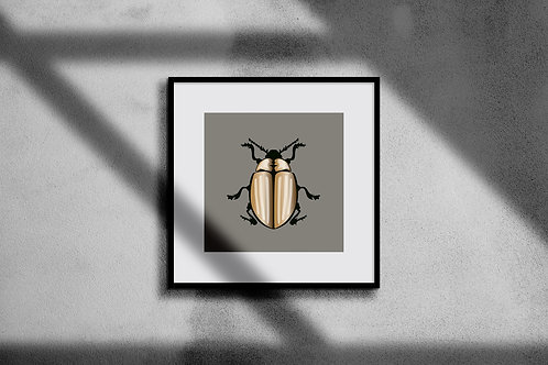 SCARAB WALL ART