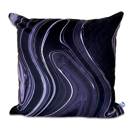 VIOLET GOUACHE CUSHION