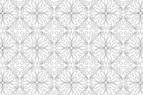 MOROCCAN SEQUENCE COLOURING PAGE