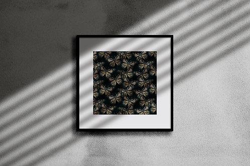 BOTANICAL BUTTERFLY WALL ART