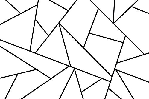 GEOMETRIC COLOURING PAGE