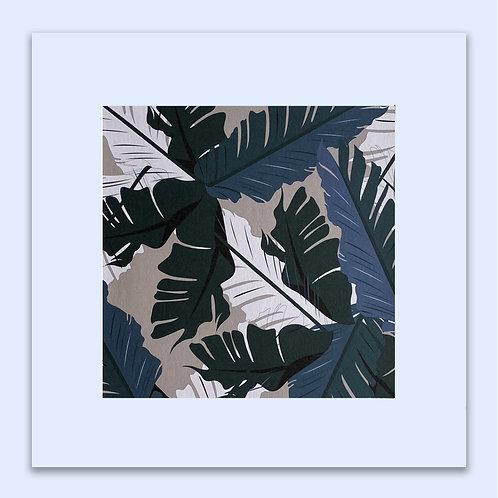 BANANA LEAVES WALL ART