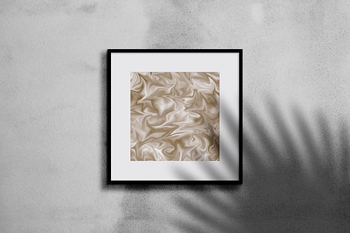 FEATHERED GOLD WALL ART