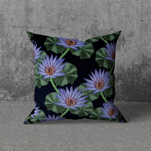 TROPICAL WATER LILY CUSHION
