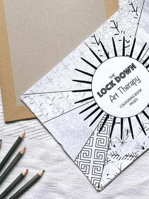 COLOURING BOOK PAGES SET OF 10