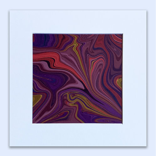 MARBLED WALL ART